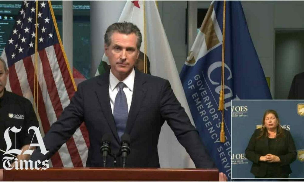 Governor Newsom is asked about undocumented immigrants in ...